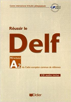 خرید کتاب فرانسه Reussir le DELF unite A2 Niveau debutants + CD