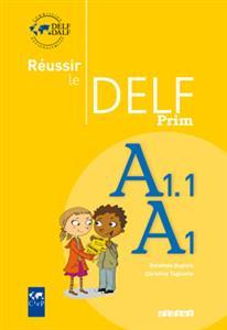 خرید کتاب فرانسه Réussir le delf prim A1 - A1.1