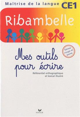 خرید کتاب فرانسه Ribambelle mes autils pour ecrire