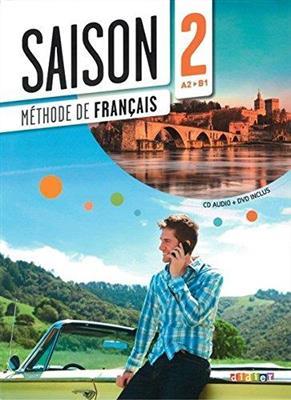 خرید کتاب فرانسه Saison 2 niv.A2 B1 + Cahier + CD