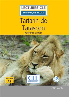 خرید کتاب فرانسه Tartarin de Tarascon - Niveau 1 + CD - 2eme edition