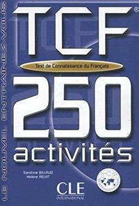 خرید کتاب فرانسه Tcf-250 Activities Book + Key (French Edition)