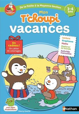 خرید کتاب فرانسه T'choupi 3-4 ans