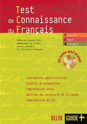 خرید کتاب فرانسه Test de connaissance du francais (TCF)