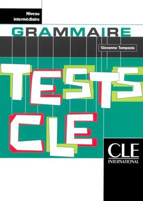 خرید کتاب فرانسه Tests de grammaire cle - Niveau Intermediaire