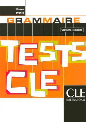 خرید کتاب فرانسه Tests de grammaire cle - avance