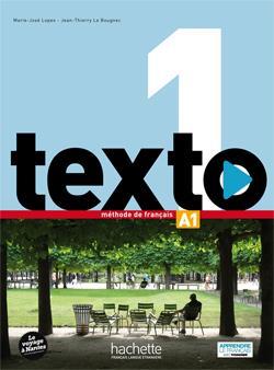 خرید کتاب فرانسه Texto 1 + cahier + DVD