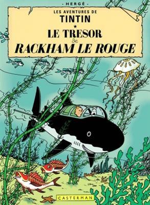خرید کتاب فرانسه Tintin T12 : Le Tresor de Rackham le rouge