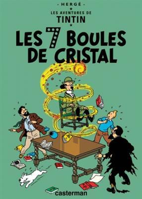 خرید کتاب فرانسه Tintin T13 : Les 7 boules de Cristal