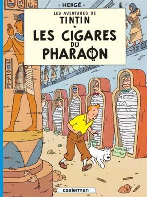 خرید کتاب فرانسه Tintin T4 : Les Cigares du Pharaon