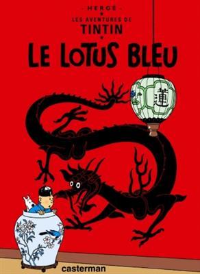 خرید کتاب فرانسه Tintin T5 : Le Lotus bleu