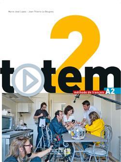 خرید کتاب فرانسه Totem 2 + cahier + DVD
