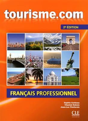 خرید کتاب فرانسه Tourisme.com + CD audio - 2eme edition