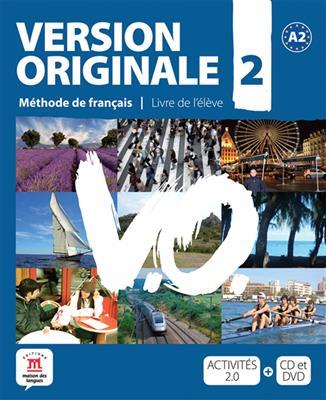 خرید کتاب فرانسه Version Originale 2 + cahier + DVD
