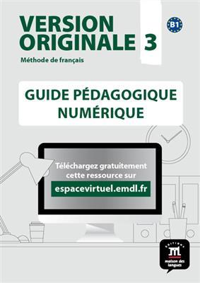 خرید کتاب فرانسه Version Originale 3 – Guide pedagogique
