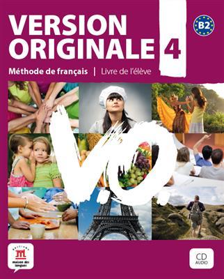 خرید کتاب فرانسه Version Originale 4 + cahier + DVD