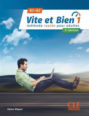 خرید کتاب فرانسه Vite et bien 1 - 2ème - A1-A2 + CD