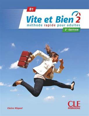 خرید کتاب فرانسه Vite et bien 2 - 2ème - B1 + CD