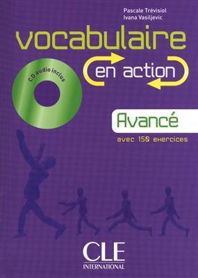 خرید کتاب فرانسه Vocabulaire en action - avance + CD