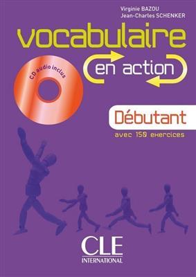 خرید کتاب فرانسه Vocabulaire en action - debutant + CD