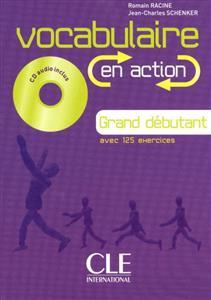 خرید کتاب فرانسه Vocabulaire en action - grand debutant + CD