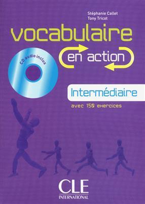 خرید کتاب فرانسه Vocabulaire en action - intermediaire + CD