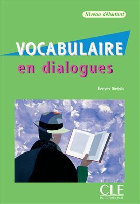 خرید کتاب فرانسه Vocabulaire en dialogues - debutant + CD