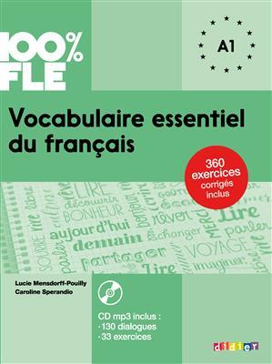 خرید کتاب فرانسه Vocabulaire essentiel du français niv. A1 - Livre + CD