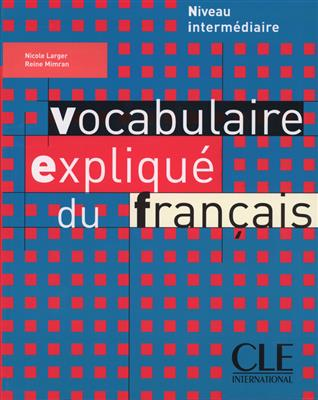 خرید کتاب فرانسه Vocabulaire explique du français - intermediaire