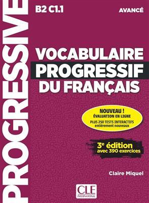 خرید کتاب فرانسه Vocabulaire progressif - avance + CD - 2eme edition
