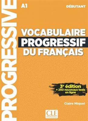 خرید کتاب فرانسه Vocabulaire progressif - debutant + CD -3eme edition
