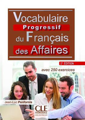 خرید کتاب فرانسه Vocabulaire progressif des affaires - intermediaire + CD - 2eme edition