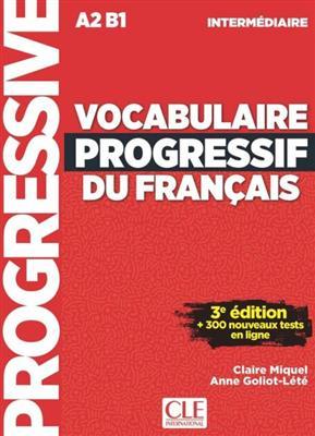 خرید کتاب فرانسه Vocabulaire progressif français - intermediaire + CD - 3em