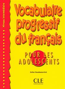 خرید کتاب فرانسه Vocabulaire progressive - adolescents - intermediaire