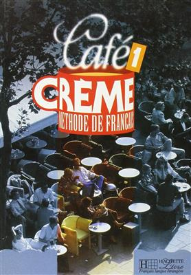 خرید کتاب فرانسه cafe creme 1 + cahier d'exercise + cd