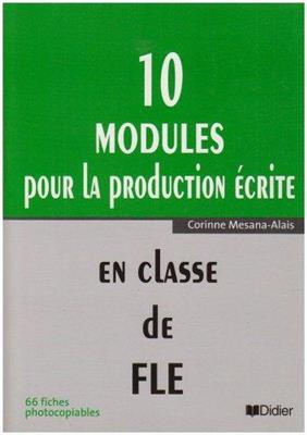 خرید کتاب فرانسه modules pour la production ecrite