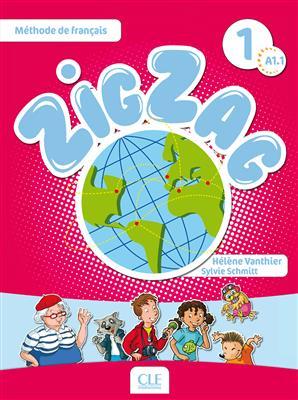 خرید کتاب فرانسه zig zag 1 cartes images