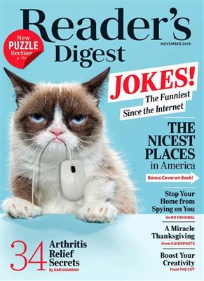 خرید Reader's Digest November 2018
