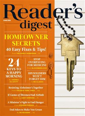 خرید Reader's Digest USA - June 2018