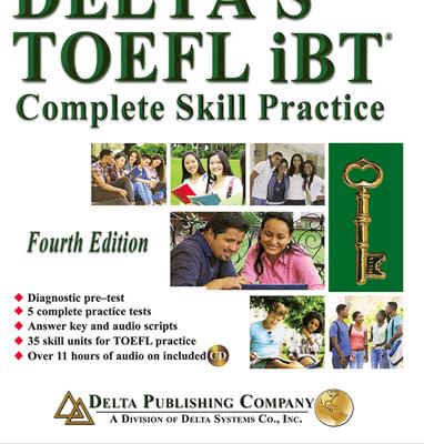 کتاب انگليسی Deltas Key to the TOEFL iBT 4th+CD