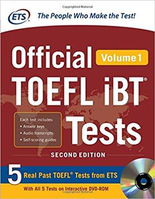 خرید کتاب انگليسی Official TOEFL iBT Tests Volume 1 (2nd)+DVD