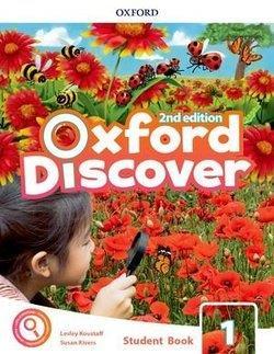خرید کتاب انگليسی Oxford Discover 1 2nd - SB+WB+DVD