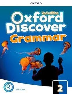 خرید کتاب انگليسی Oxford Discover 2 2nd - Grammar Book + CD