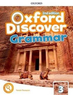 خرید کتاب انگليسی Oxford Discover 3 2nd - Grammar Book + CD