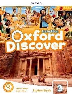 خرید کتاب انگليسی Oxford Discover 3 2nd - SB+WB+DVD
