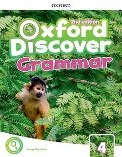 خرید کتاب انگليسی Oxford Discover 4 2nd - Grammar Book + CD