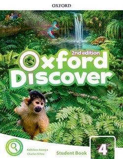 خرید کتاب انگليسی Oxford Discover 4 2nd - SB+WB+DVD