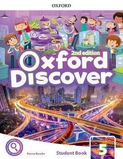 خرید کتاب انگليسی Oxford Discover 5 2nd - SB+WB+DVD
