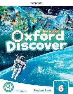خرید کتاب انگليسی Oxford Discover 6 2nd - SB+WB+DVD