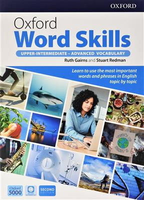 خرید کتاب انگليسی Oxford Word Skills Upper-Intermediate - Advanced vocabulary